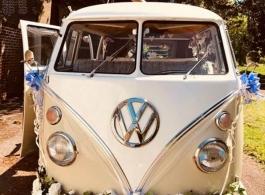 Splitscreen Campervan for weddings in Braintree